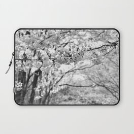Where The White Blossoms Grow Laptop Sleeve
