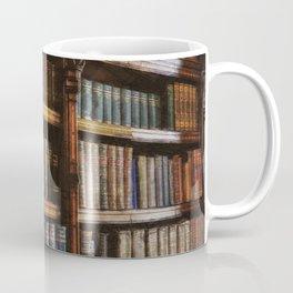 Knowledge - Antique Books on History & Law Coffee Mug