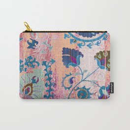 FRAMANDI GEOMETRIC MOROCCAN COLORFUL ART Carry-All Pouch