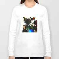 marley Long Sleeve T-shirts featuring Get Down Marley by LEEMARIE