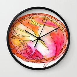 Illenium Fire Wall Clock