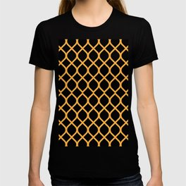 The Black and Orange Curve T-shirt