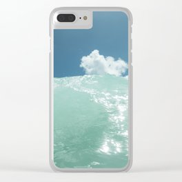 Hawaii Water V Clear iPhone Case