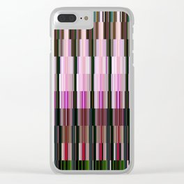 Kaleidoscope | Orchid Clear iPhone Case