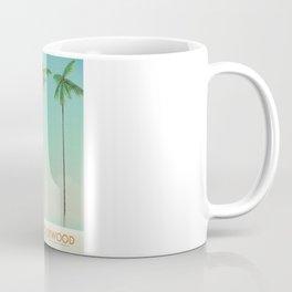 Hollywood Travel poster Coffee Mug