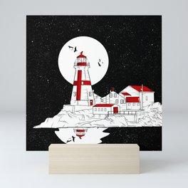 East Quoddy Lighthouse Mini Art Print