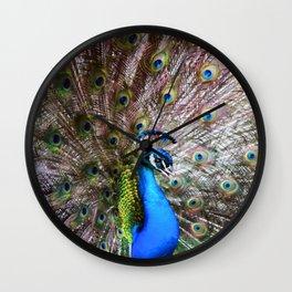 Dunedin Cemetery Peacock Wall Clock