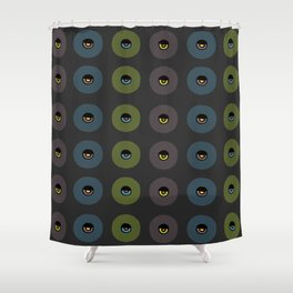 Aztec Collection: Eye in the Sky Shower Curtain