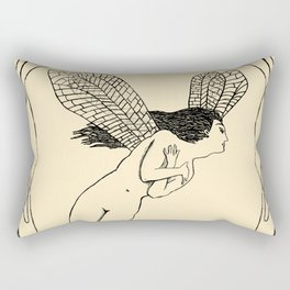 The Grimshaw's Fairy Rectangular Pillow