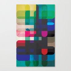 Circleton Canvas Print