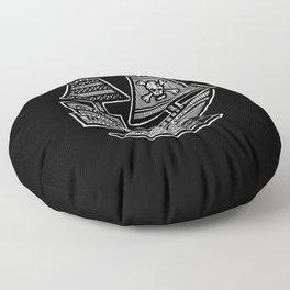 Pirate Ship - Hollow Soul Floor Pillow