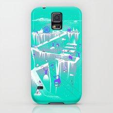 Penguins (flat, palette swap) Slim Case Galaxy S5