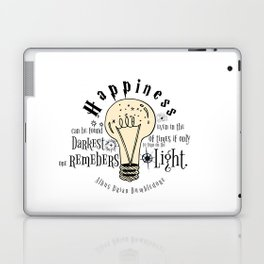 Happiness can be found even in the darkest of things.... Laptop & iPad Skin