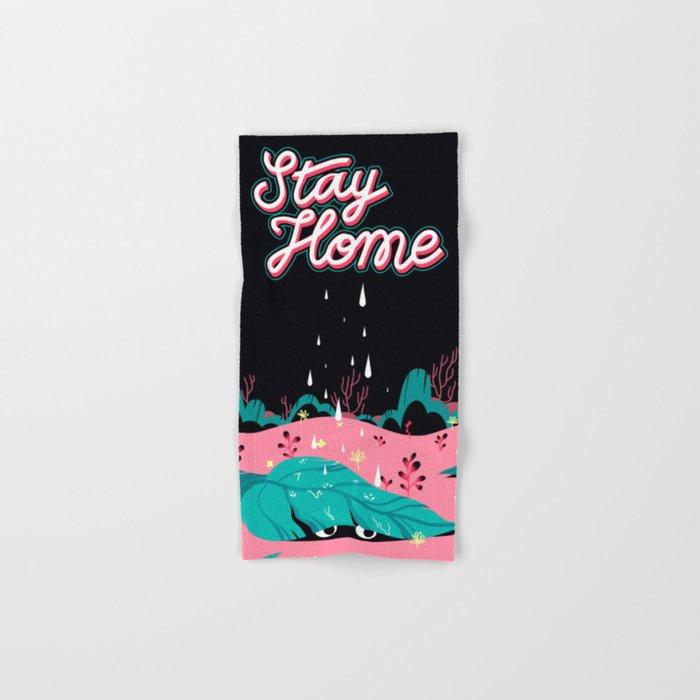 Stay Home Hand & Bath Towel