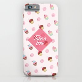 Take a bow iPhone Case
