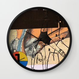 elastic subject Wall Clock