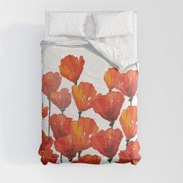 Poppies! Comforters