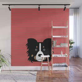 Border collie custom Wall Mural