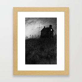 The Empty House Framed Art Print