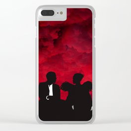 Lost in the World Clear iPhone Case