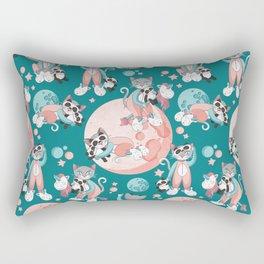 Cats, pandas and unicorns I Rectangular Pillow