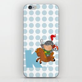 k for knight iPhone Skin