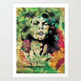 Jimmy on LSD Art Print