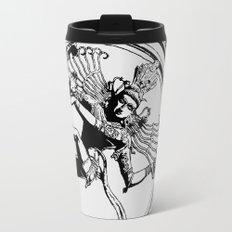 Natraj Dance - Mono Travel Mug