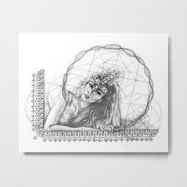 Her Vision Metal Print