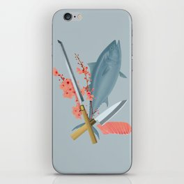 sushi chef iPhone Skin