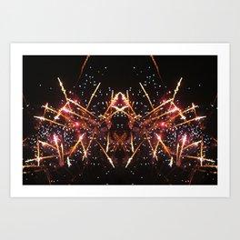 crown of fire Art Print