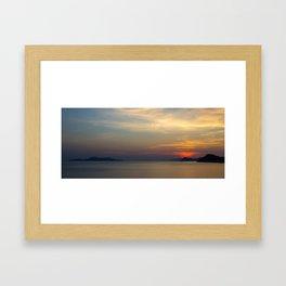 Perfect Sunset Framed Art Print
