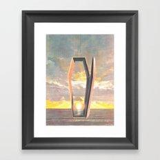 At Long Last (Death At Sea) Framed Art Print