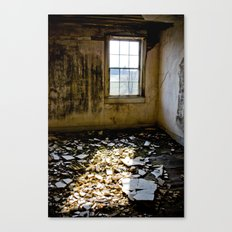 Upstairs room #2 Canvas Print