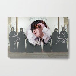 Fake Love Jimin Metal Print