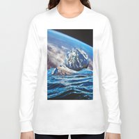 planets Long Sleeve T-shirts featuring Planets by John Turck
