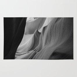 Canyon (Black and White) Rug