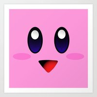 kirby Art Prints featuring Kirby by UMe Images