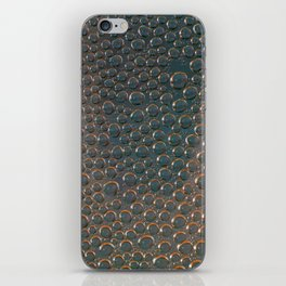The world of bubbles I iPhone Skin