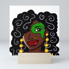 Eye Remember Africa Mini Art Print