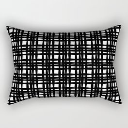 kariran (black/white) Rectangular Pillow