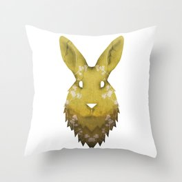 Into The Deserted Plains Throw Pillow