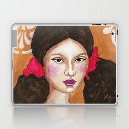Isabel in Pink Mixed Media Laptop & iPad Skin