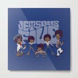 Jetsons Five Metal Print