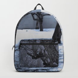 Snow covered Wasteland Backpack