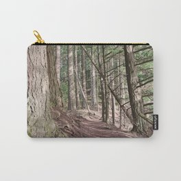 SHADOWS ON A WOODLAND PATH Carry-All Pouch