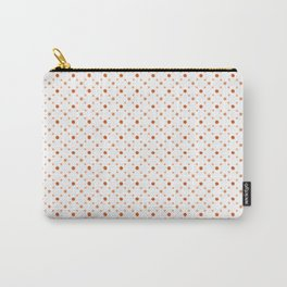 Criss Cross Dots Carry-All Pouch
