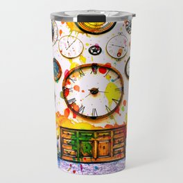 Time For Art Travel Mug