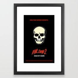 Evil Dead 2 - Dead by Dawn Framed Art Print