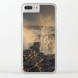 Unleashed Power Clear iPhone Case